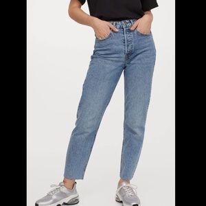 H&M Mom Jeans NWOT